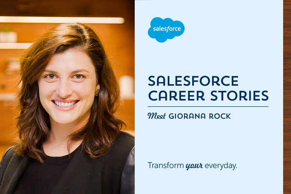 Salesforce Career Stories: Rock climbing the tech ladder