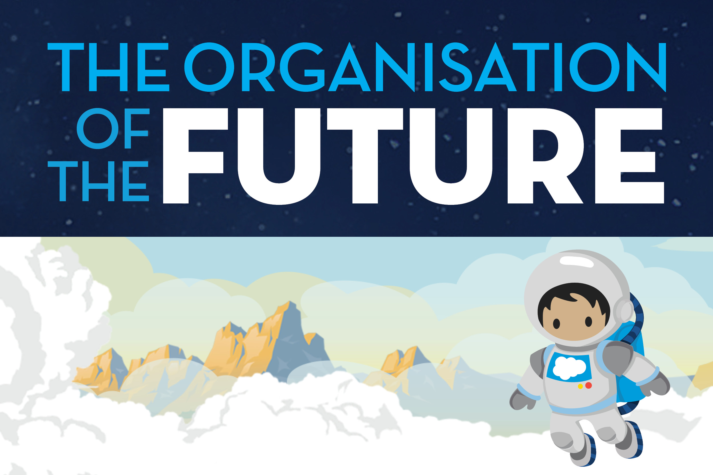 Infographic: The organisation of the future