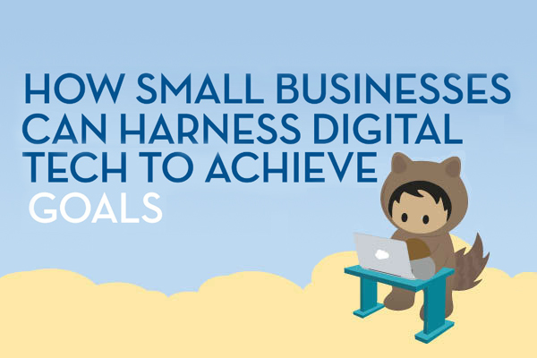 Infographic: How small businesses can harness digital tech to achieve goals