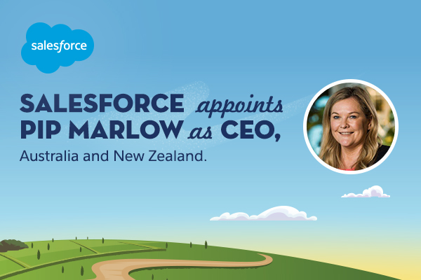 Pip Marlow appointed CEO, Salesforce ANZ