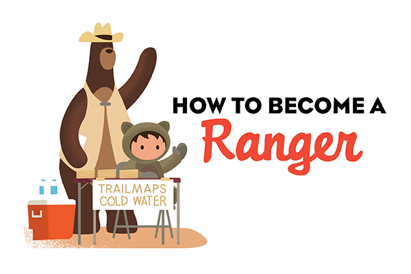 How to become a Trailhead Ranger over the holidays