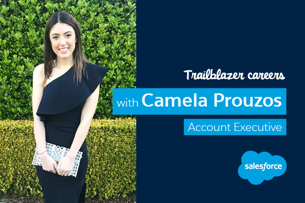 Meet Camela Prouzos: A fearless female with an appetite for sales