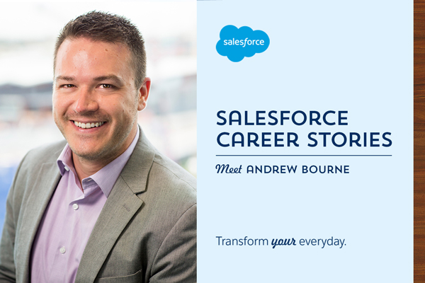 Salesforce Career Stories: The importance of creating your own luck
