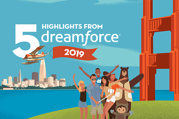 Infographic: 5 highlights from Dreamforce 2019