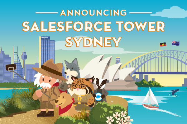 Announcing Salesforce Tower Sydney - Doors open in 2022
