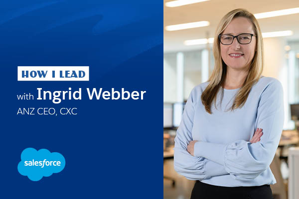 How I lead: Ingrid Webber, CXC