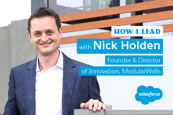 How I lead: Nick Holden, ModularWalls