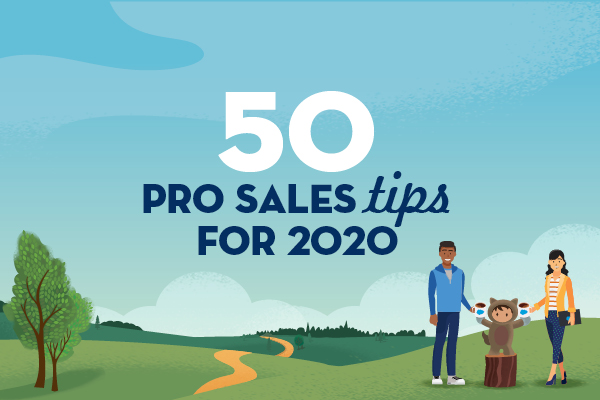 Introducing the 50 Pro Sales Tips for 2020 eBook