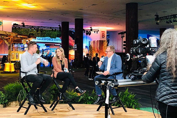 Live from Dreamforce: Thankyou's Justine and Daniel Flynn