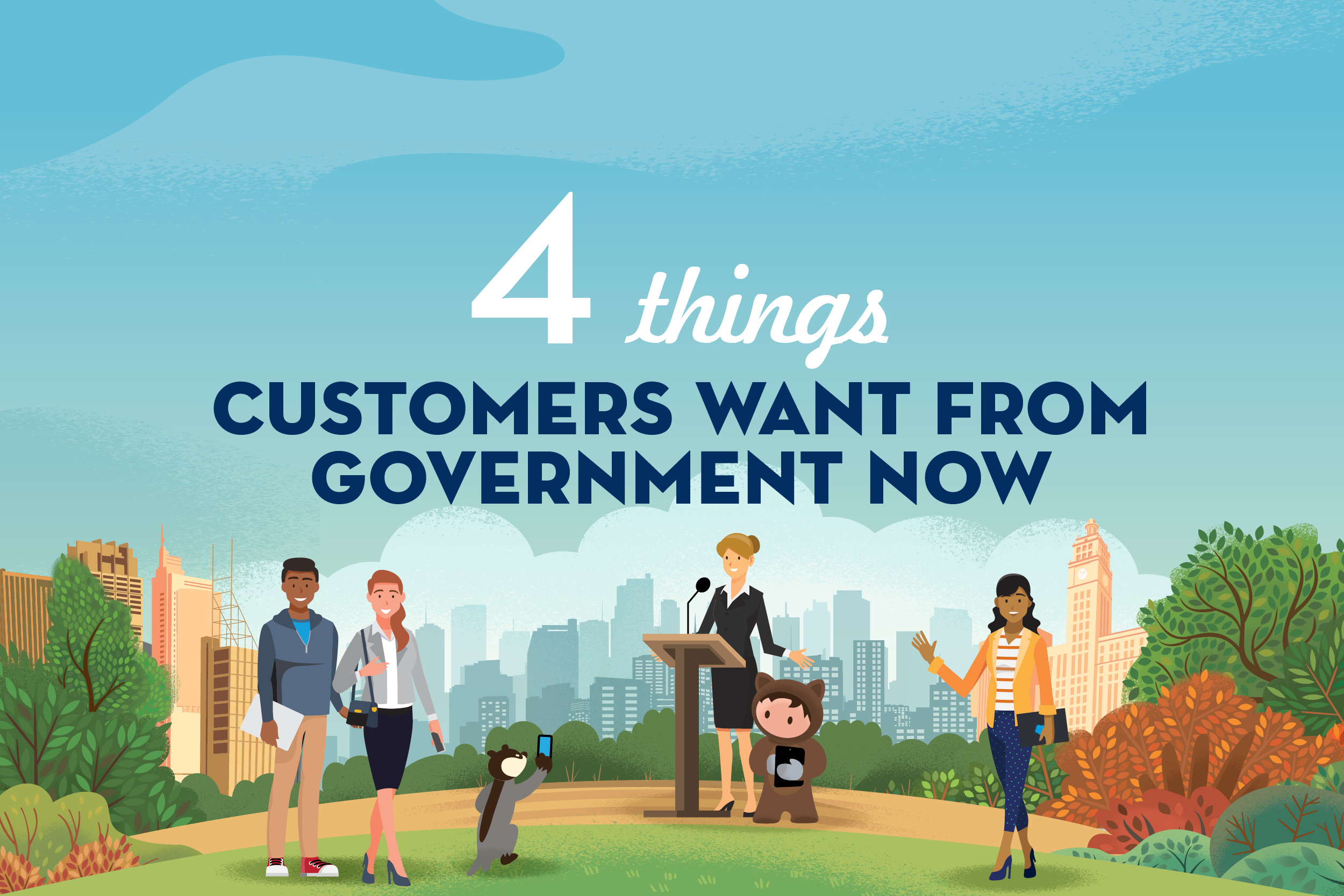 Infographic: How governments can build trust