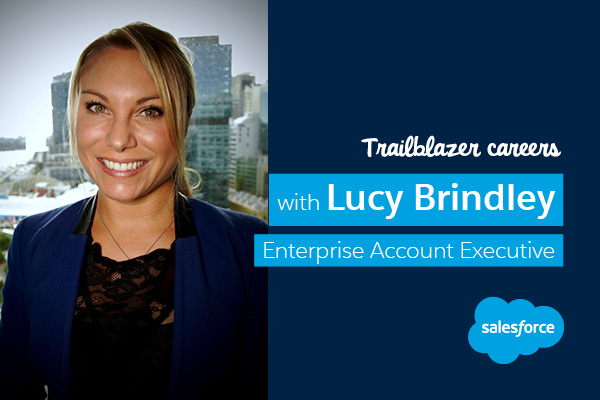 Lucy Brindley's Salesforce career: A lifetime entrepreneur charts her own course