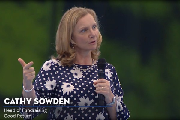 Live from Dreamforce: Cathy Sowden, Good Return