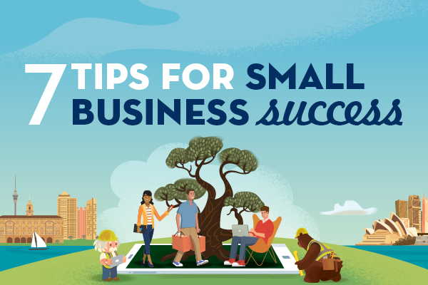 Infographic: Setting your small business up for success
