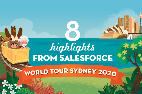 Infographic: 8 highlights from Salesforce World Tour Sydney 2020