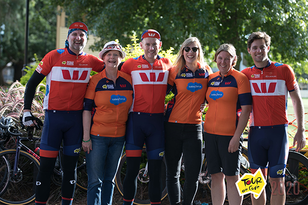 """Go little legs!"": Westpac Ride for a Cure 2020"