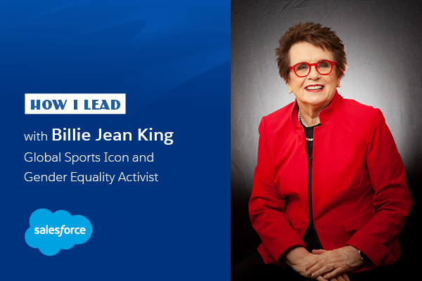 "Billie Jean King: ""We are in this together"""