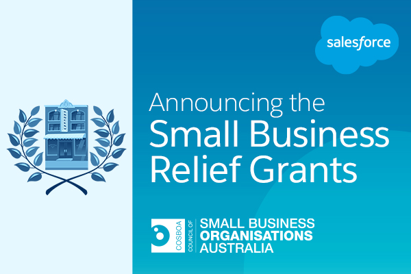 Announcing Small Business Relief Grants available in Australia