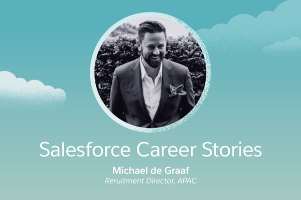 "Salesforce Career Stories: Why working at Salesforce is a ""wild ride"""