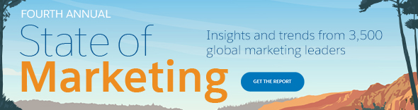 Fourth Annual State of Marketing. Insights and trends from 3500 global marketing leaders. Get the report.