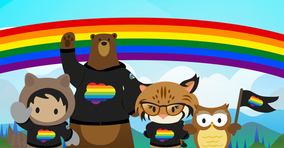 How Salesforce Canada Supports the LGBTQ+ Community