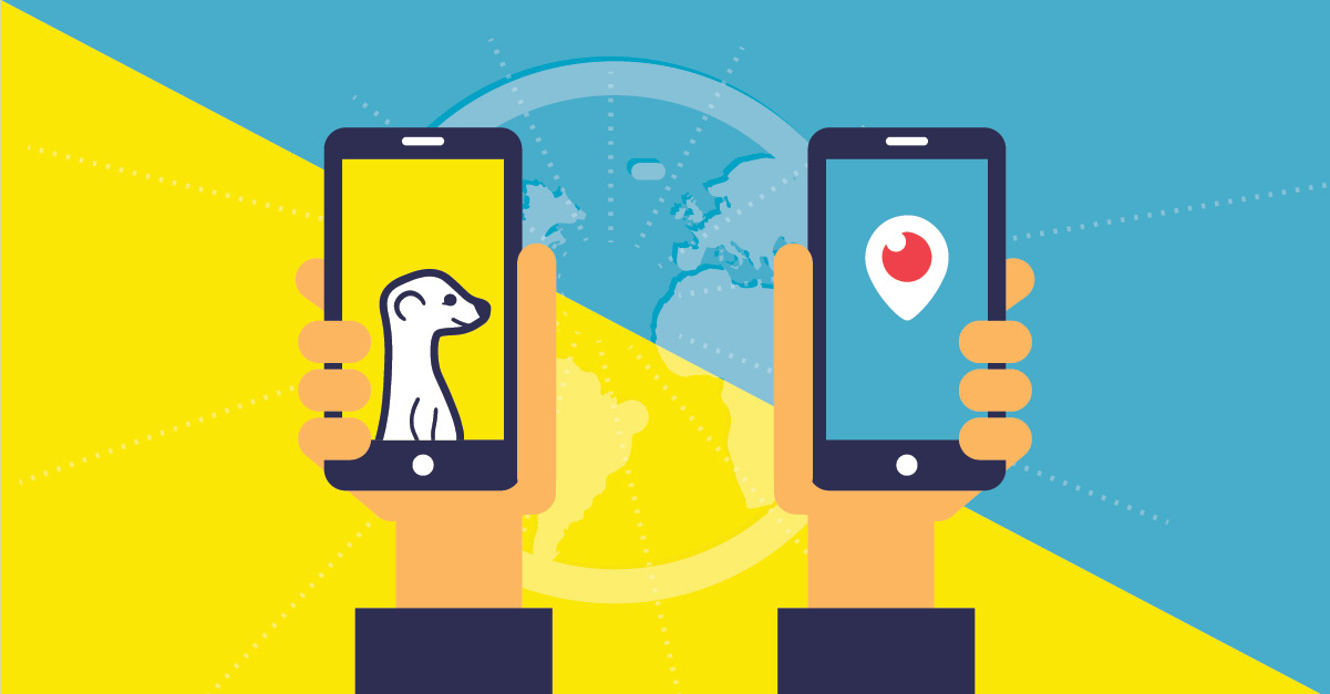 Meerkat & Periscope: Colonizing the Live Streaming Market