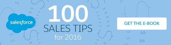 100 sales tips for 2016. Get the ebook.