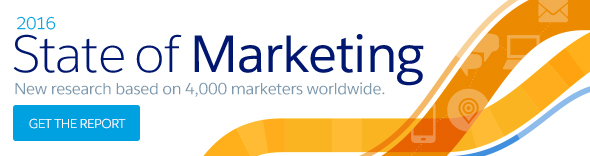 2016 State of marketing. New research based on 4000 marketers worldwide. Get the report.