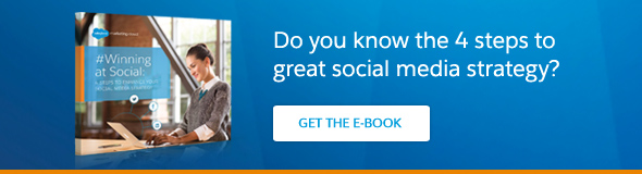 Do you know the 4 steps to great social media strategy? Get the ebook.
