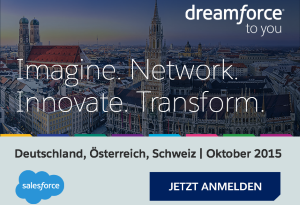 "Dreamforce in San Francisco verpasst? Dann auf zur ""Dreamforce to You""!"