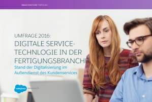 Digitale Service-Technologie in der Fertigungsbranche