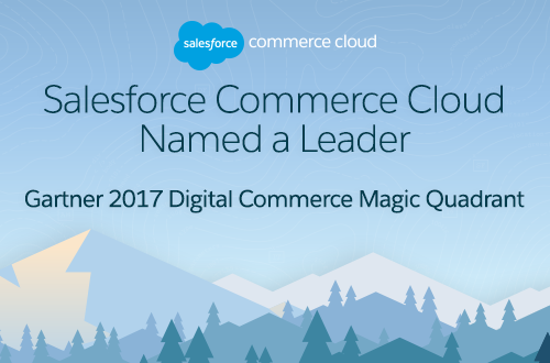 Analysten positionieren Salesforce Commerce Cloud als Marktführer