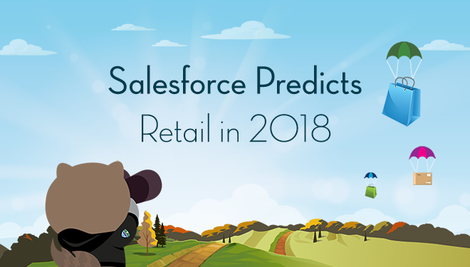 Salesforce-Prognose: Online-Shopping in 2018