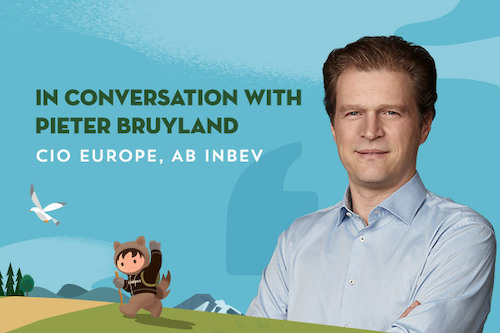 Digital Transformation at Scale with Pieter Bruyland, CIO Europe at AB InBev