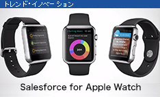 Salesforce for Apple Watch発表