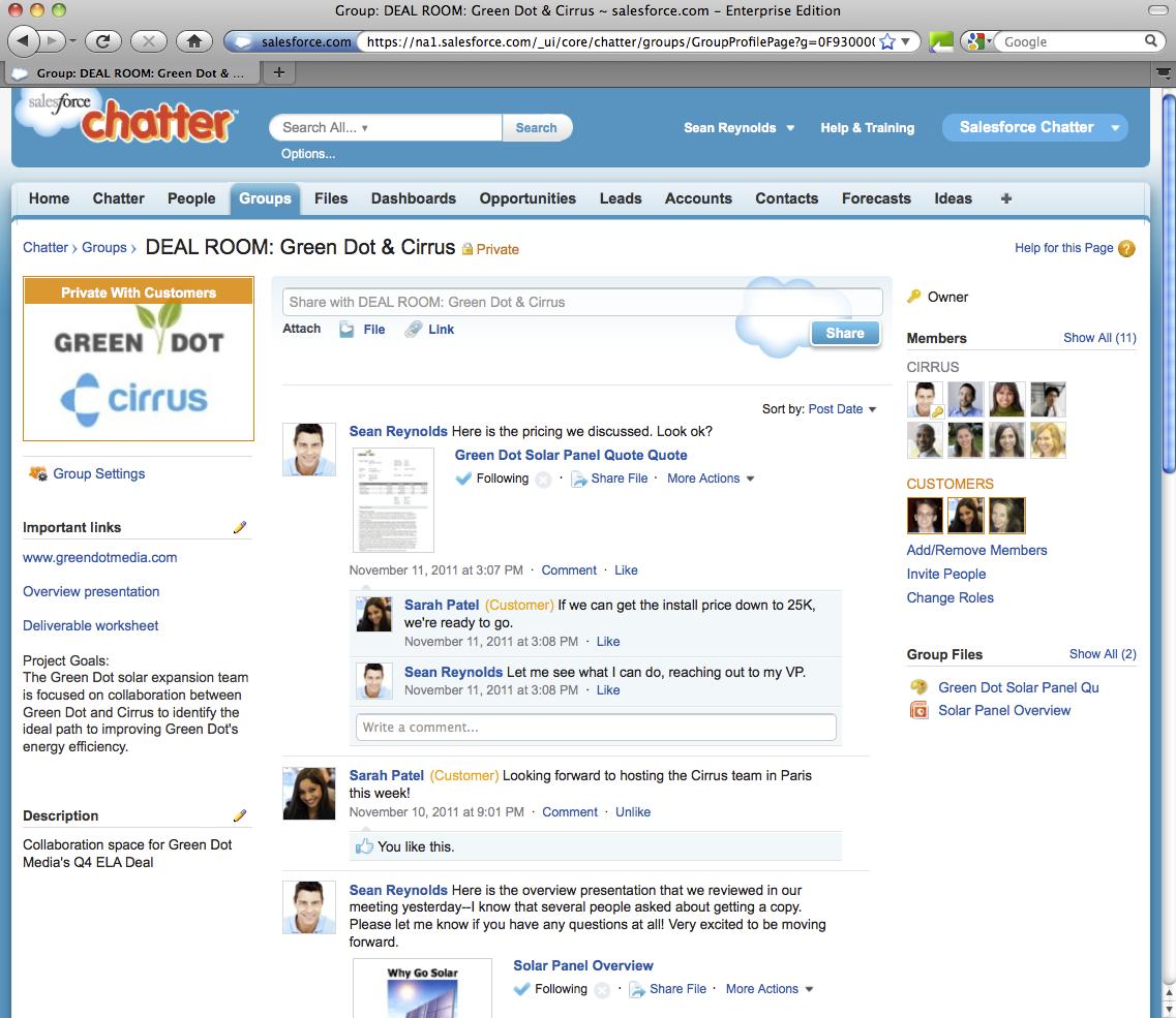 Image result for salesforce chatter