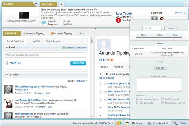 Open CTI: Moving CTI Integrations to the Cloud - Salesforce Blog