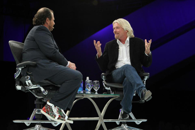 Sir Richard Branson Shares Entrepreneurship Lessons