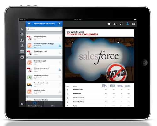 Salesforce Chatterbox - File Sharing Goes to Work