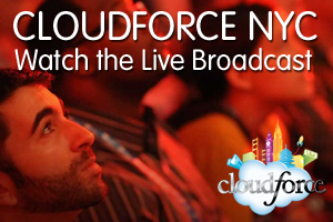 Live Stream: Watch Cloudforce New York feat. Estée Lauder, Toyota and GE Capital