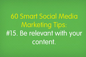 60 Smart Social Media Marketing Tips