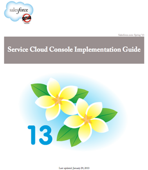 All You Need to Set Up a Service Cloud Console