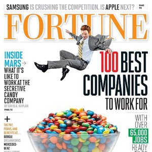 Salesforce is #19 on Fortune's 100 Best Companies to Work For 2013 (Full List)