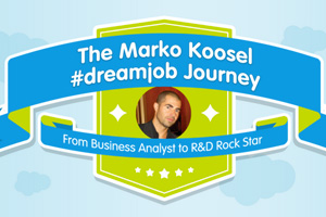 Business Analyst Works His Way Up to R&D Rock Star [INFOGRAPHIC]
