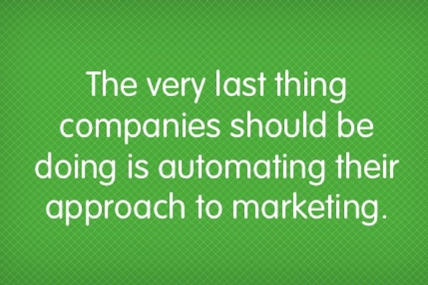 5 Issues with Marketing Automation