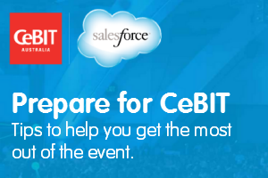 Preparing for Salesforce at CeBIT - How to get the most out of the conference