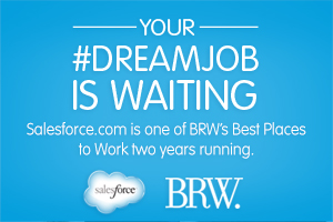 Salesforce.com Ranked Again as One of BRW's 50 Best Places to Work Australia!
