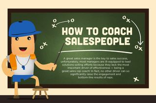 How to Coach Salespeople [Infographic]