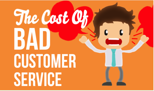 The Cost of Bad Customer Service [Infographic]