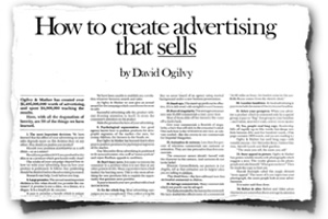 3 Fresh Marketing Lessons from David Ogilvy
