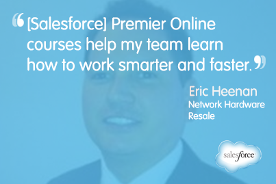 One Millionth User Completes Salesforce Premier Online Training
